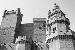 Дворец в Наварре Стоковое Изображение