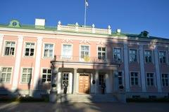 Дворец в парке Kadriorg стоковая фотография