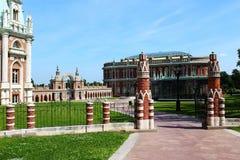 Дворец в парке Tsaritsyno Стоковые Изображения RF