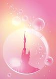 Дворец в пузыре иллюстрация штока