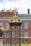 Дворец в садах Kensington, декоративный строб Kensington, Лондон, Великобритания Стоковые Фото