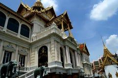 Дворец в Таиланде Стоковая Фотография RF