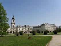 Дворец в Keszthely, Венгрия Festetics Стоковые Фотографии RF