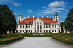 Дворец в Kozłówka, Польше Стоковая Фотография