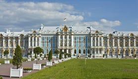 Дворец в selo Tsarskoye, России Стоковые Изображения RF