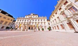 Дворец Германия Ludwigsburg жилой Стоковые Изображения RF