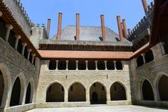Дворец герцогов Braganza, Guimarães, Португалии стоковая фотография rf