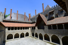 Дворец герцогов Braganza, Guimarães, Португалии Стоковое фото RF