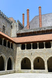 Дворец герцогов Braganza, Guimarães, Португалии стоковое фото