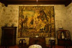Дворец герцогов Braganza, Guimarães, Португалии стоковые изображения