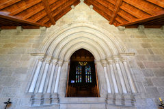 Дворец герцогов Braganza, Guimarães, Португалии Стоковые Фото