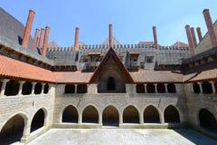 Дворец герцогов Braganza, Guimarães, Португалии Стоковая Фотография