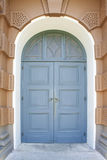дворец голубой двери bangkok грандиозный Стоковое Изображение RF