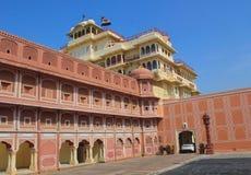 Дворец города, Джайпур, Rajastan, Индия Стоковые Изображения