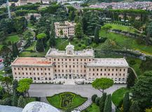 Дворец губернатора государства Ватикан стоковое фото