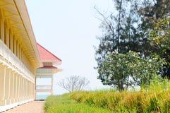 дворец деревянный стоковое фото