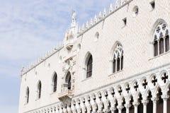 Дворец дожа в Венеции стоковые фотографии rf