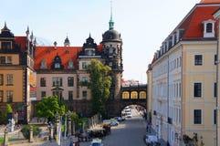 Дворец Дрездена королевский (замок), Германия Стоковое Изображение