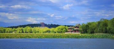 Дворец лета Пекин Стоковые Изображения RF