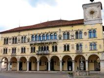 Дворец замка Беллуно прописной стоковые фотографии rf