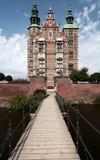 Дворец замка Rosenborg королевский в Копенгагене Дании Стоковая Фотография RF