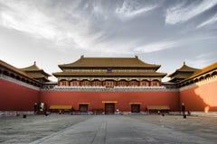 дворец запрещенный городом имперский стоковые фото