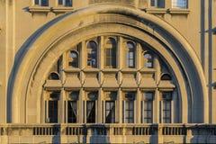 Дворец залпа Palacio ориентир ориентира Монтевидео стоковое фото