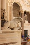 Дворец императора Diocletian разделение Хорватия Стоковые Фото