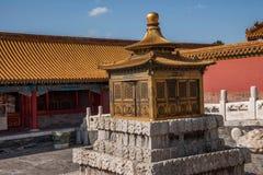 Дворец имперского дворца в Пекине стоковые фото
