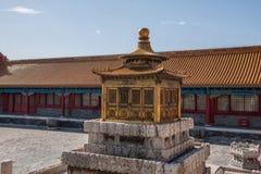 Дворец имперского дворца в Пекине стоковые изображения