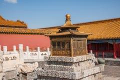 Дворец имперского дворца в Пекине стоковые фотографии rf