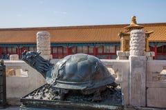 Дворец имперского дворца в Пекине стоковая фотография