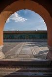 Дворец имперского дворца в стене дворца Пекина стоковое фото rf