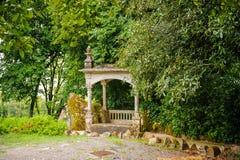 Дворец имущество Quinta da Regaleira, Sintra, Португалия Стоковые Изображения RF