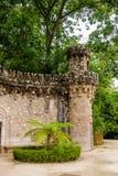 Дворец имущество Quinta da Regaleira, Sintra, Португалия Стоковое Изображение RF