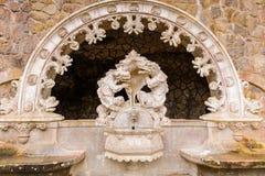 Дворец имущество Quinta da Regaleira, Sintra, Португалия Стоковые Изображения
