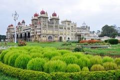 дворец Индии mysore стоковые изображения rf