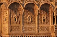 дворец индийского jaisalmer богато украшенный Стоковая Фотография