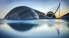 Дворец искусств Валенсии Палау II Стоковое Фото