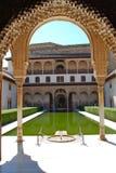 дворец Испания alhambra granada Стоковое Изображение