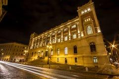 Дворец итальянского правительства Montecitorio в Риме Стоковые Фото