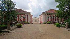 Дворец и музей Rundale в Латвии Стоковая Фотография RF