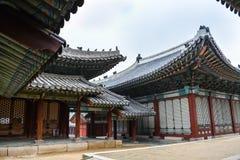 Дворец и дома Changgyeong Стоковое фото RF