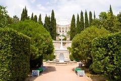 Дворец и парк в Gaspra Стоковое Изображение