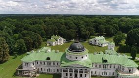 Дворец и парк Tarnowski в Kachanovka акции видеоматериалы