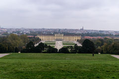 Дворец и сады Schonbrunn Стоковое Изображение RF