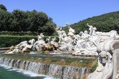 Дворец Казерты Неаполь Италии Стоковая Фотография