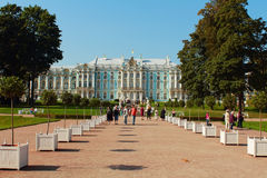 Дворец Катрина. Россия, Tsarskoye Selo, парк Катрина. стоковое фото rf