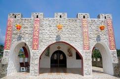 Дворец Китая в традиционном стиле Стоковое Изображение