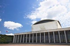 Дворец конгресса на Риме Eur стоковые фото
